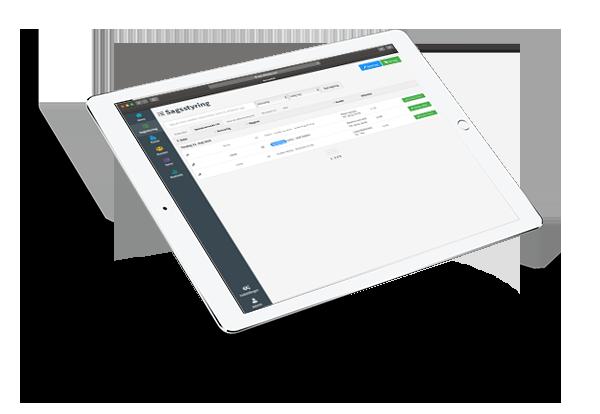 iPad kassesystem til flyttefirmaer